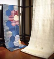 古布パッチワーク袋帯